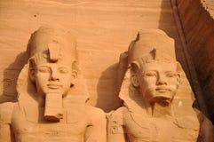 埃及ii法老王ramesses 免版税库存照片