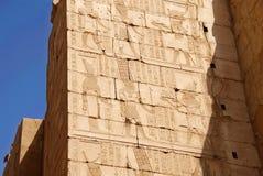 埃及karnak卢克索寺庙 免版税图库摄影