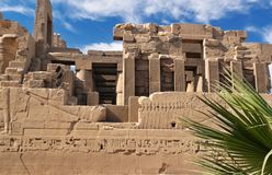 埃及karnak 免版税库存照片
