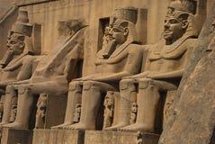 埃及pharaohes 库存图片