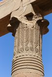 埃及philae寺庙 免版税库存图片
