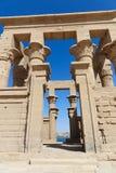 埃及philae寺庙 图库摄影