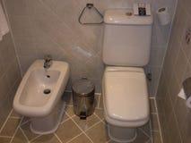 埃及Sharm El谢赫富豪酒店盛大Sharm 2014年7月10日:WC在旅馆里 免版税库存照片