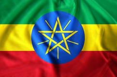 埃塞俄比亚旗子例证 皇族释放例证