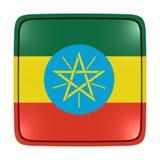 埃塞俄比亚旗子象 向量例证