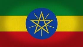 埃塞俄比亚旗子 皇族释放例证