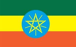 埃塞俄比亚标志 库存例证