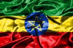 埃塞俄比亚沙文主义情绪在风 库存例证