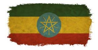 埃塞俄比亚难看的东西旗子 皇族释放例证