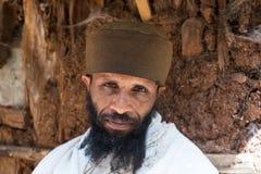 埃塞俄比亚,拉利贝拉,修士1月2015年,埃赛俄比亚的,社论 库存照片