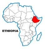 埃塞俄比亚 库存例证