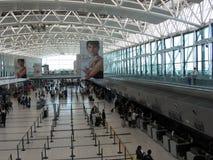 埃塞萨机场终端布宜诺斯艾利斯阿根廷 免版税库存照片