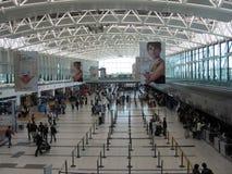 埃塞萨机场终端布宜诺斯艾利斯阿根廷 免版税图库摄影