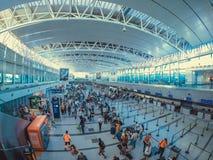 埃塞萨机场 免版税图库摄影