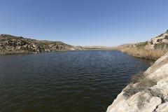 埃尔切水库在冬天 免版税图库摄影