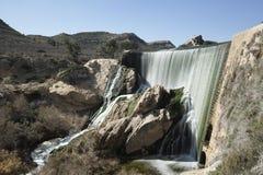 埃尔切水库在冬天 免版税库存图片