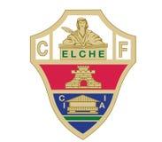 埃尔切锎商标西班牙橄榄球 免版税图库摄影