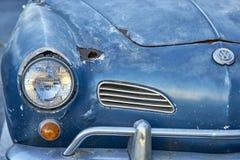 埃尔卡洪, CA/USA - 2016年9月14日:Cajon经典巡航是南加州车展举行的每周4月- 10月 免版税库存照片