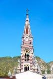 埃尔卡门教会尖顶 库存图片