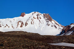埃尔吉耶斯山峰顶 免版税库存照片