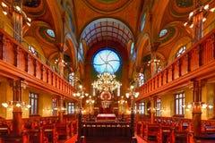 埃尔德里奇街犹太教堂-纽约 图库摄影