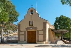 埃尔米塔Virgen De La韦尔塔教会  库存照片