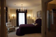 埃尔维斯・皮礼士利Graceland豪宅卧室 库存图片