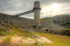 埃弗里特水坝 库存照片