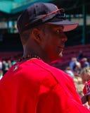 埃德加伦特里亚,波士顿红袜 免版税库存图片