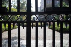 埃德温摊雕象在Gramercy公园,曼哈顿,纽约 免版税库存图片