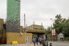 埃德蒙顿绿色驻地,伦敦 免版税库存照片