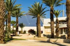 """埃拉特,以色列†""""2017年11月7日:对城市博物馆`埃拉特Iri `的中央入口,埃拉特,以色列 库存图片"""