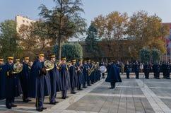 埃斯基谢希尔,土耳其11月10,2017 :巨大领导人Atatà ¼ rk ` s 免版税库存照片