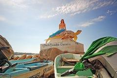 埃斯孔迪多港,墨西哥 免版税库存图片