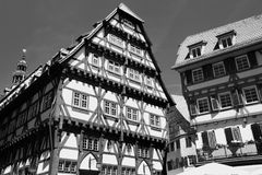 埃斯林根, Baden符腾堡,德国 库存图片