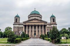 埃斯泰尔戈姆,匈牙利大教堂  库存图片