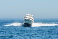 埃斯特波纳小游艇船坞-西班牙 免版税图库摄影