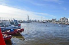 埃斯特角,乌拉圭,九6月二千和十六 供膳寄宿处 图库摄影