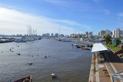 埃斯特角,乌拉圭,九6月二千和十六 供膳寄宿处 免版税库存照片
