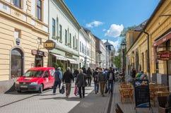 埃格尔,匈牙利 免版税图库摄影