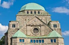 埃森老犹太教堂 免版税库存照片