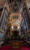 埃武拉,葡萄牙Se大教堂  库存图片