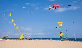费埃特文图拉岛,西班牙, 2014年11月08日,风筝节日 图库摄影
