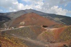 埃特纳火山 库存照片