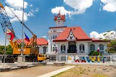 埃米利奥Aguinaldo寺庙在Kawit,甲米地省,菲律宾 库存照片