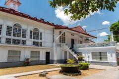 埃米利奥Aguinaldo寺庙在Kawit,甲米地省,菲律宾 免版税图库摄影