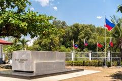 埃米利奥Aguinaldo寺庙在Kawit,甲米地省,菲律宾 库存图片