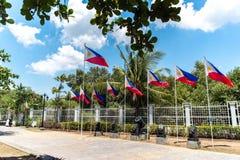埃米利奥Aguinaldo寺庙在Kawit,甲米地省,菲律宾 免版税库存图片