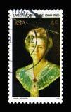 埃米莉Hobhouse (1860-1926), serie,大约1976年 免版税库存照片