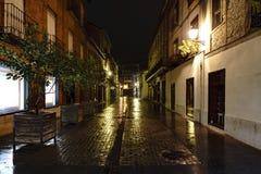 埃纳雷斯堡,马德里,西班牙 2017年11月28日:商业 图库摄影